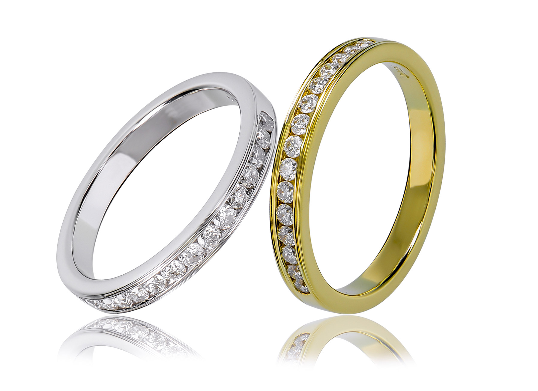 baccio ring archives georgini two product jdc category jewellers set rings wedding jewellery tone channel
