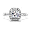 Transcend Single Halo Dream Engagement Ring