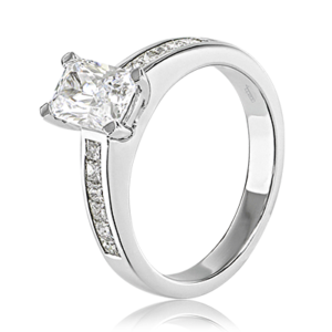 Forever Emerald Cut Engagement Ring