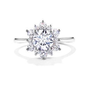 Delight Lady Di Diamond Engagement Ring