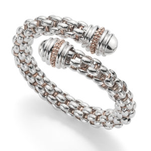 'Twin Star' Diamond Bangle