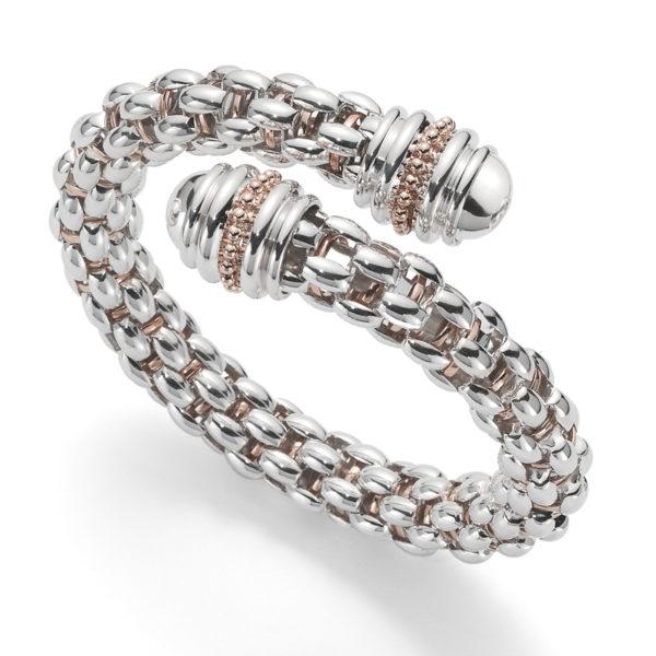 'Twin Star' Diamond Bangle