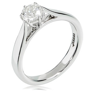 Round Brilliant Cut Solitaire