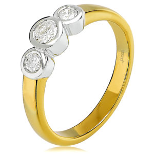 Trilogy Engagement Ring