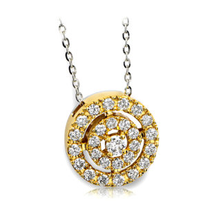 Round Brilliant Cut Pendant