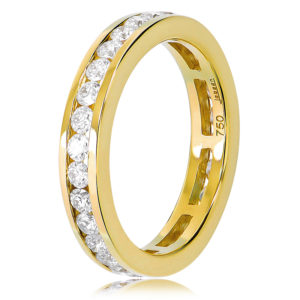 Surround Diamond Wedding Ring