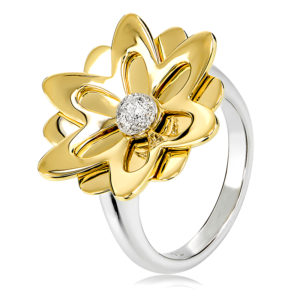 Wildflower Diamond Ring