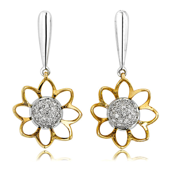 Wildflower Diamond Earrings