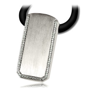 White Gold Men's Pendant