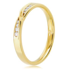 Diamond Channel Set Ring