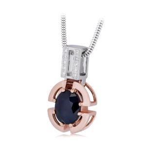 Australian Sapphire Pendant