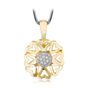 Wildflower Diamond Pendant