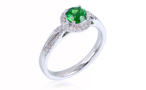 Love in Colour Halo Ring